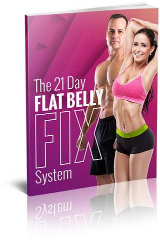 Flat belly fat ad